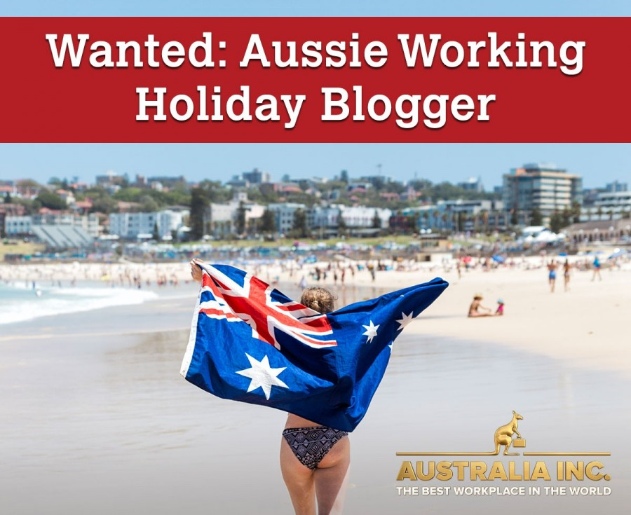 Wanted: Aussie working holiday blogger